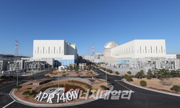 사진은 한국수력원자력 신고리원전 3·4호기 모습